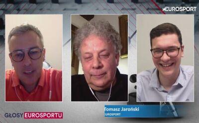 Tomasz Sikora z uśmiechem wspomina spotkanie z Tomaszem Jarońskim w Turynie