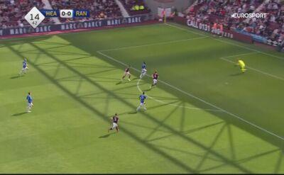 Skrót meczu Hearts - Rangers z 34. kolejki szkockiej Premiership