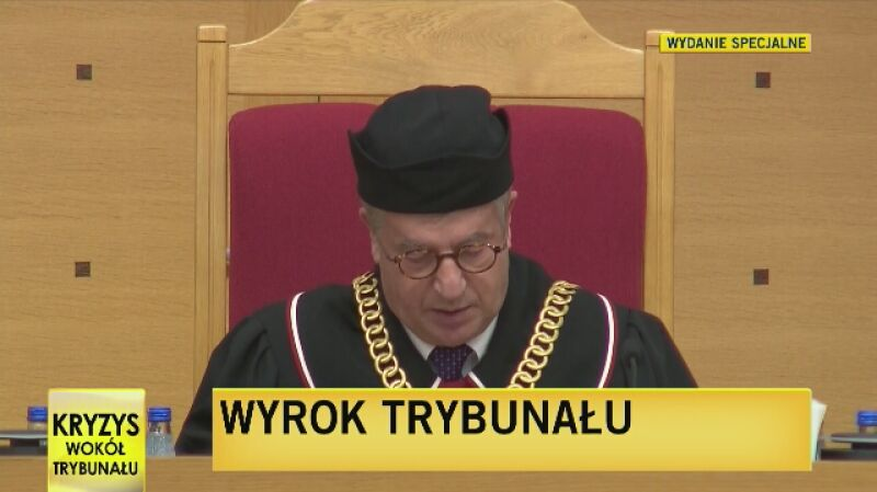 Wyrok Trybunału Konstytucyjnego z 9 grudnia - część 1