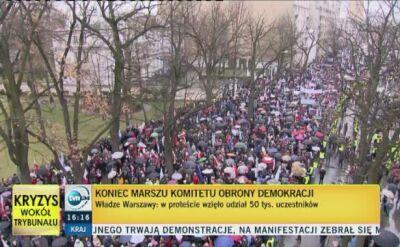 Chwedoruk: dla większości obywateli tematyka tego marszu była abstrakcyjna