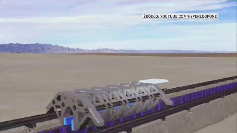 Hyperloop może rozwinąć się także w Polsce