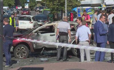 Zamach na znanego dziennikarza w Kijowie