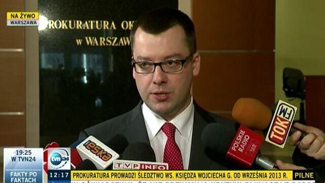 Ks. Wojciech G. z zarzutami