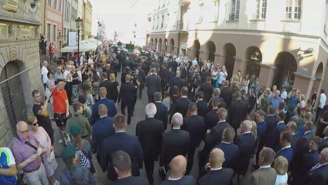 """Pożegnanie """"Inki"""" i """"Zagończyka"""" w Gdańsku"""
