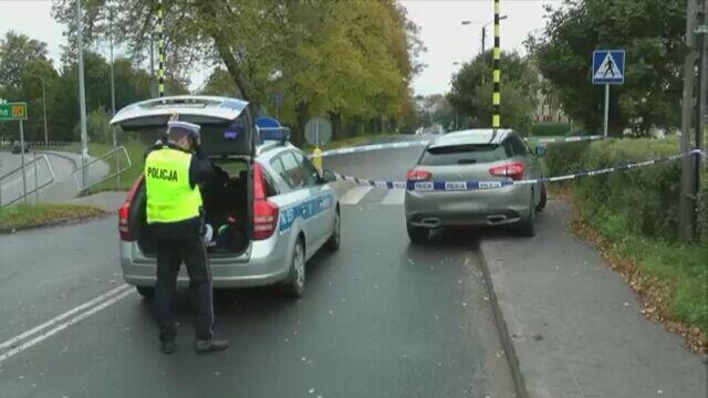 Policjanci zatrzymali złodziei samochodów. Jeden próbował uciekać