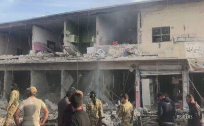 Co najmniej 13 osób zginęło w zamachu w mieście Tel Abjad