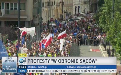 """""""To jest wyprowadzanie Polski z Unii Europejskiej"""""""