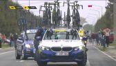 Ofiara bufetu. Absurdalny wypadek w wyścigu dookoła Flandrii