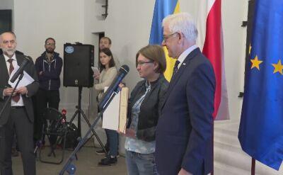 Jacek Czaputowicz przekazał nagrodę Pro Dignitate Humana dla Sencowa