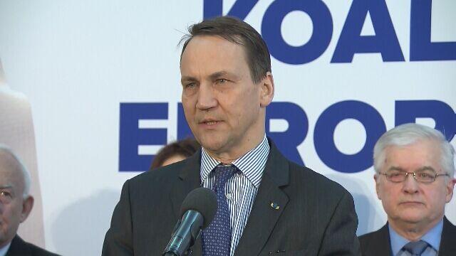 Sikorski: wybory do PE zdecydują, czy Polska trafi do grupy decyzyjnej w UE