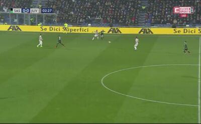 Świetna interwencja Wojciecha Szczęsnego w meczu Juventusu z Sassuolo