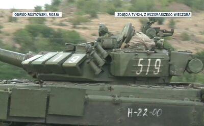 Czołgi zmierzają w stronę Ukrainy