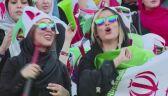 Kobiety pierwszy raz od 40 lat na meczu w Iranie
