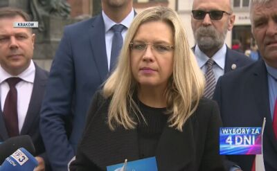 Małgorzata Wassermann apeluje o udział w wyborach