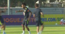 Reprezentacja Brazylii trenuje przed sparingiem z Senegalem