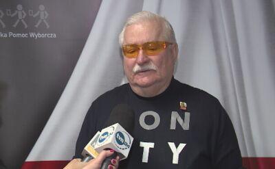 Wałęsa: nie mogę do końca powiedzieć w co ja gram