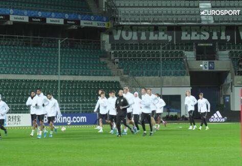 Niemcy gotowi na mecz z Estonią