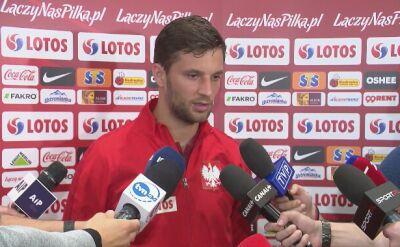 Bartosz Bereszyński o meczu z Łotwą