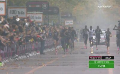 Kipchoge złamał barierę dwóch godzin w maratonie