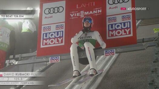 Drugi skok Dawida Kubackiego w niedzielę w Lahti
