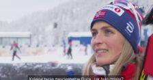 Therese Johaug po niedzielnym biegu pościgowym na 10 km w Ruce