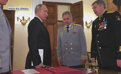 Putin chwali umiejętności wywiadu wojskowego GRU