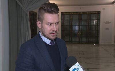 Grzegrzółka: To jest komunikat Kancelarii Sejmu, który nie jest jeszcze odpowiedzią. Jest naszą opinią