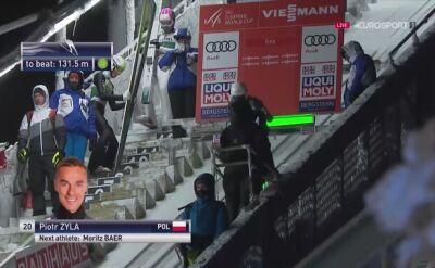 Skok Piotra Żyły w kwalifikacjach w Ruce