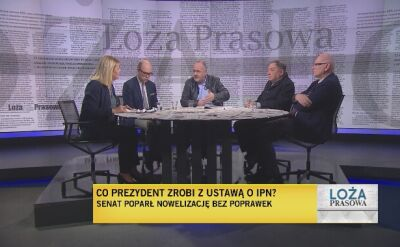 Loża prasowa 04.02.2018