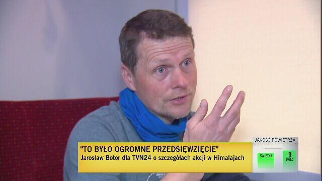 Jarosław Botor: obserwowaliśmy ich poczynania