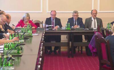 Piotrowicz: komisja zwołana w poniedziałek ze względów proceduralnych
