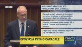 Macierewicz: kontrakt na caracale nie gwarantował tysięcy miejsc pracy