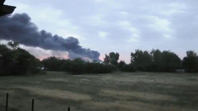 Dym nad okolicą. Materiał Reportera 24