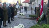 Prezydent złożył wieniec po pomnikiem Marszałka Piłsudskiego