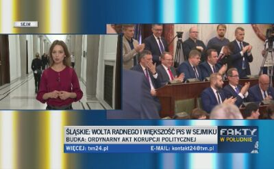 Wolta radnego KO. PiS ma większość w sejmiku na Śląsku