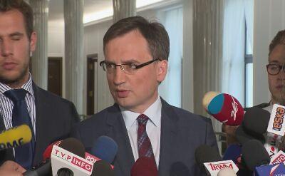 Ziobro: liczę na odważną decyzję prezydenta