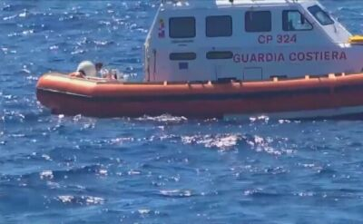 Panika na pokładzie, migranci wskoczyli do morza