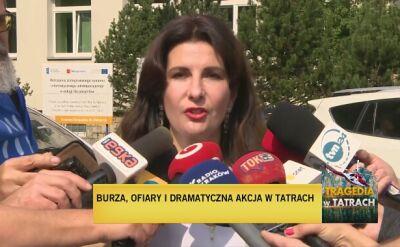 Szpital w Zakopanem podsumowuje tragedię w Tatrach