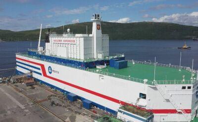 Statek Akademik Łomonosow ma dotrzeć na Daleki Wschód Rosji