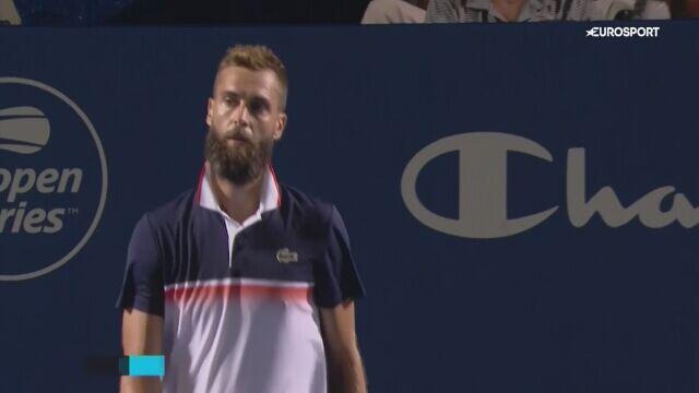 Paire awansował do finału turnieju ATP w Winston-Salem