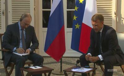 Emmanuel Macron zaprosił Putina do letniej rezydencji prezydentów Francji