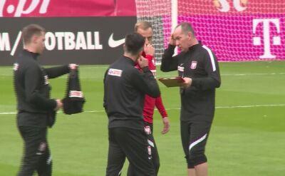 Trening reprezentacji Polski w Sopocie