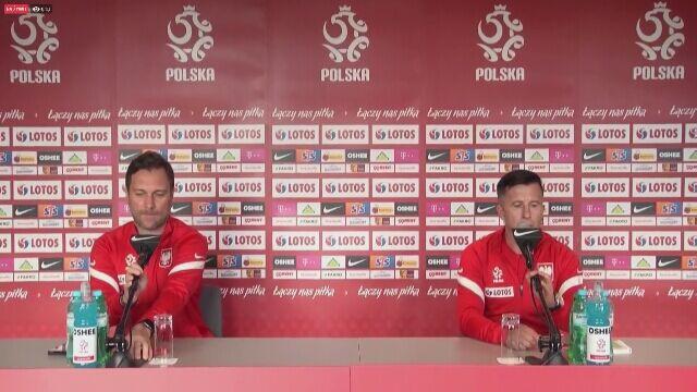 Radosław Gilewicz o stanie zdrowia Piotra Zielińskiego i Jerzego Brzęczka
