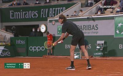 Popisowe zagranie Djokovicia w półfinale French Open
