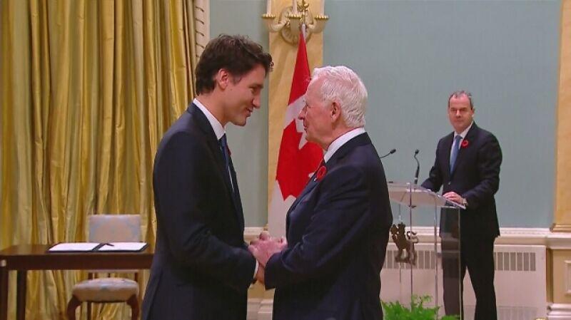 Premier Kanady złożył ślubowanie