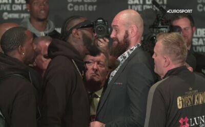 Fury i Wilder rzucili się sobie do gardeł