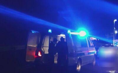 Świebodzin: Pijany uciekał przed policją. Spychał radiowóz, padły strzały