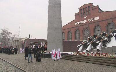 Obchody rocznicy pacyfikacji kopalni Wujek w Katowicach