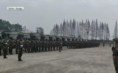 Indie i Chiny rozpoczęły wspólne ćwiczenia wojskowe