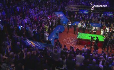 O'Sullivan chwalił Trumpa po finale MŚ